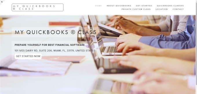 Custom template squarespace website by Risksquarespace