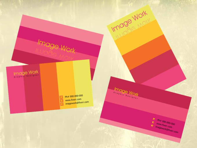 Design amazing ready to print double sided business card by imagework design amazing ready to print double sided business card colourmoves