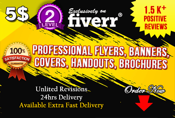 do banner ads flyers leaflets posters