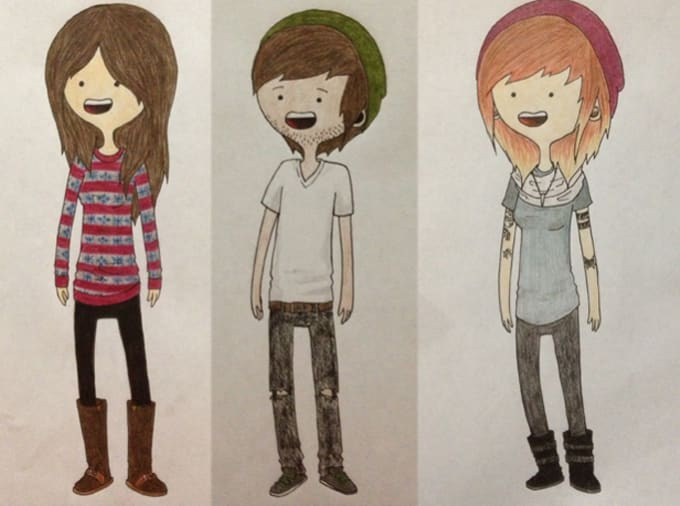 draw a cartoon of you adventure time style by chaeliegh