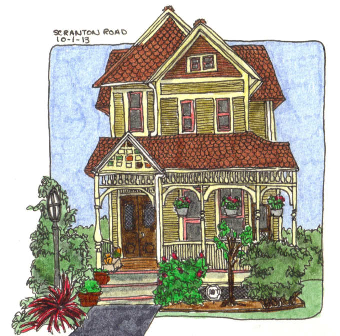 draw your house or business in my style - Draw Your House