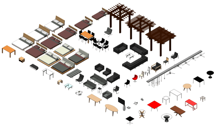 3d model any REVIT family in less than one day