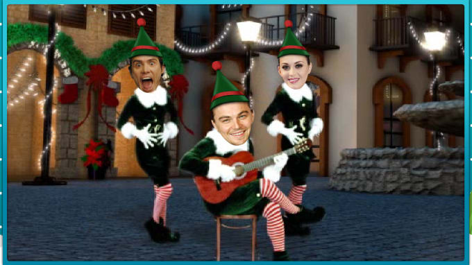 Make ur dancing video in christmas elf costume by Sidmaxud