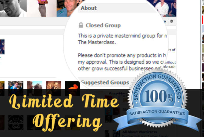 extract Facebook Closed Group Members UID