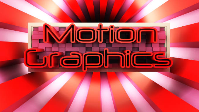 create custom Motion Graphics and Intros in After Effects