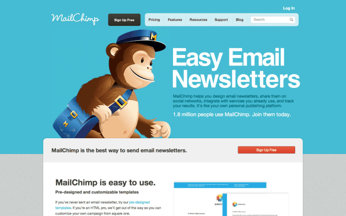 Edit Your Mailchimp Email Blast Template By Catherineyap - Using mailchimp templates