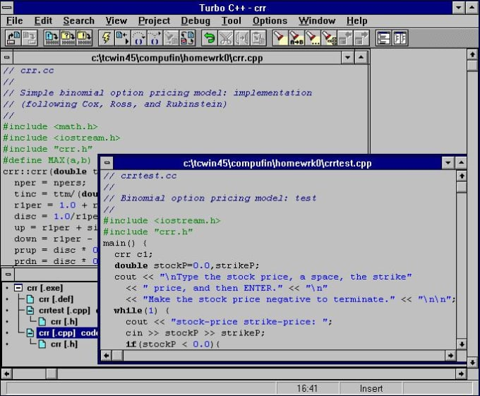 turbo c Download turbo c++ the borland c++ compiler 55 (bcc) is the building blocks and key technology of c++contractor 5 borland c++ compiler 55 is a blazingly fast 32-little optimizing compiler.