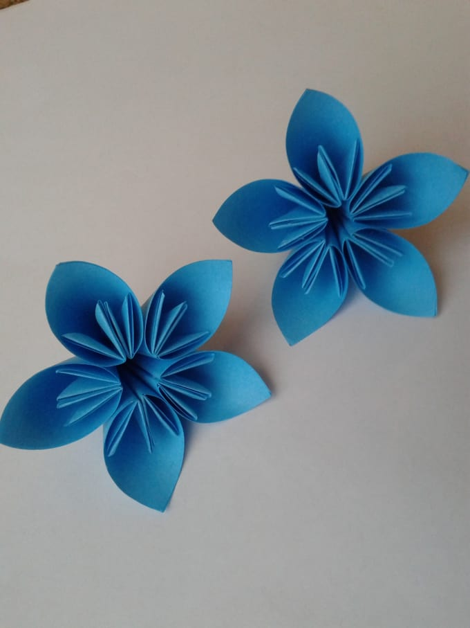 Send two cute origami kusudama flowers by eleganceorigami send two cute origami kusudama flowers mightylinksfo