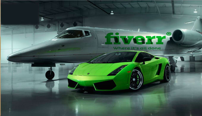 Luxury Car And Plane Fiverr