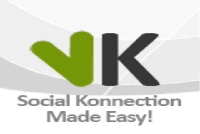provide 2 VKonnect Account within 4 days done MANUALLY