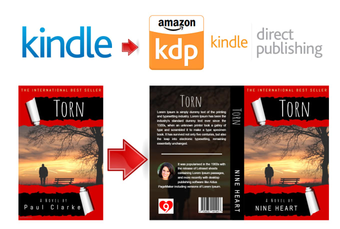 Convert Kindle Book Cover To Amazon Kdp Paperback Cover