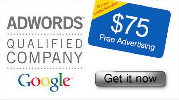 give you 75 usd or 75 euro Google ADWORDS voucher , Google ads coupon