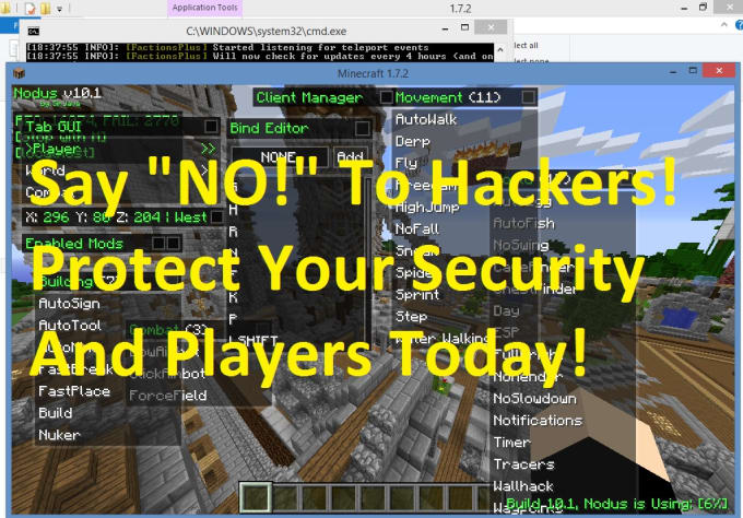 how to make your minecraft server work