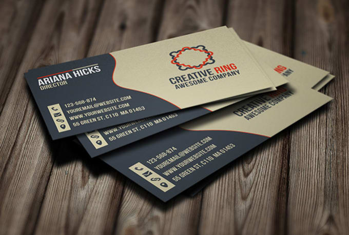 Do Double Side Professional Business Card