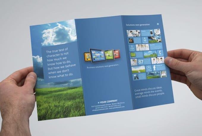design corporate trifold flyer by gsandaru