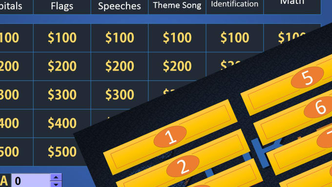 Send You Awesome Jeopardy Powerpoint Game Templates By Dashgr