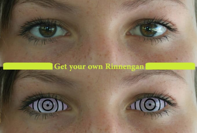 turn your eyes into a real rinnegan eye by zawianet