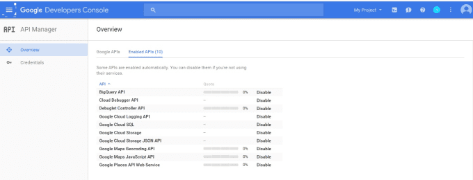 provide Google Account API Key and will resolve api issues