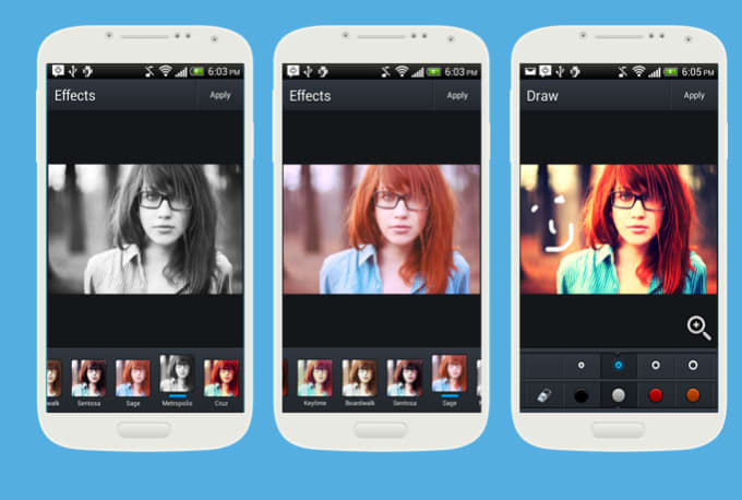 give you Photo Editing Android Source Code