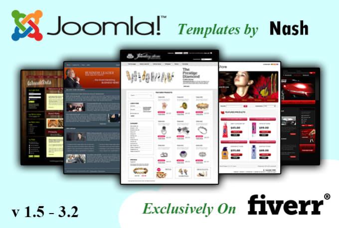 create a Joomla Template
