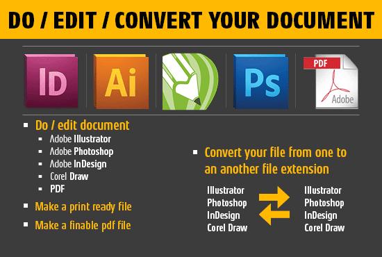 edit convert illustrator indesign photoshop corel