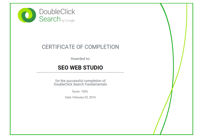 Do doubleclick search exam certification in 1 day by Seowebstudio