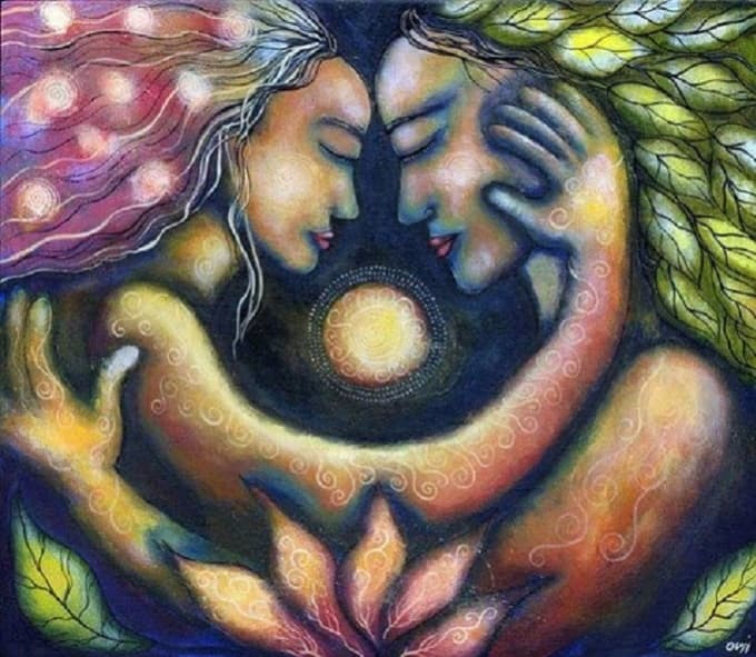 motherraven : I will channel healing energy to you and your twin flame for  $5 on www fiverr com