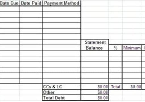 email you an annual personal budget sheet in excel format by seadol13