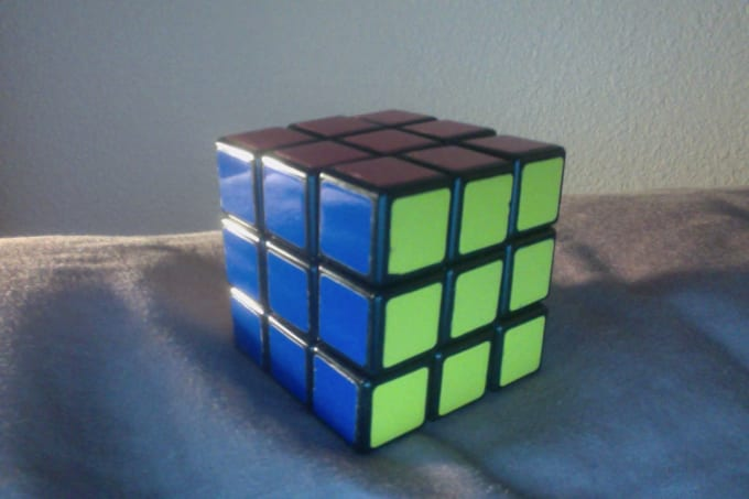bananna4 : I will teach you how to solve Rubiks cube for $5 on  www fiverr com