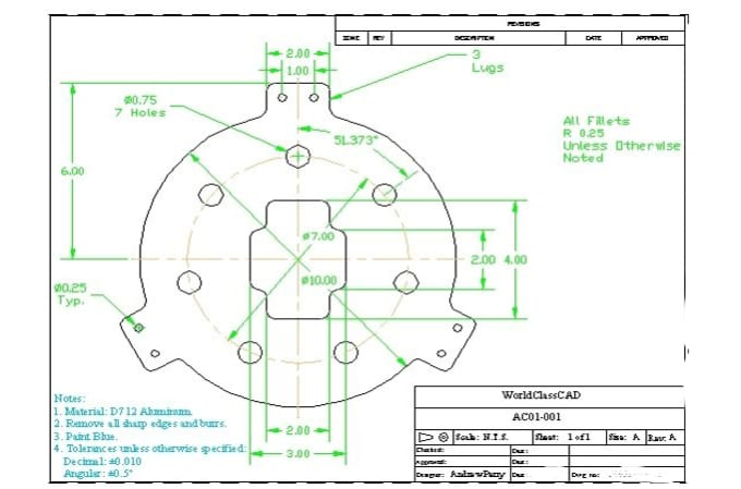 Design creative 2d mechanical drawing by rajeerox83 design creative 2d mechanical drawing malvernweather Choice Image
