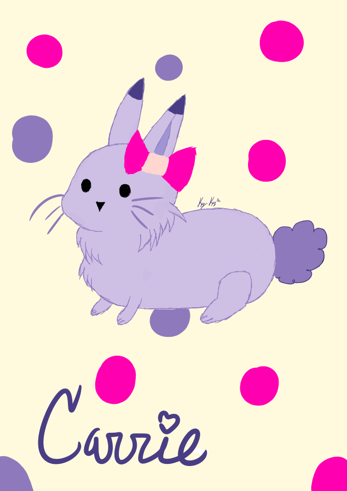 Draw You A Cute Bunny Persona By Kayla C