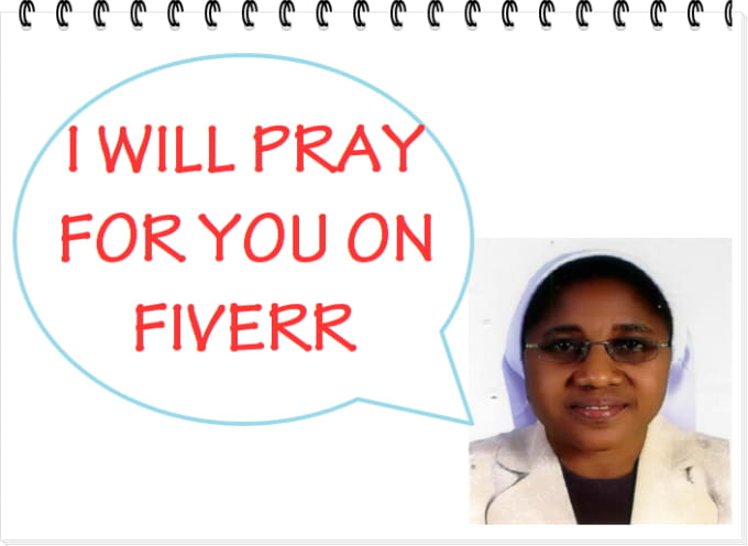 pray for you on fiverr