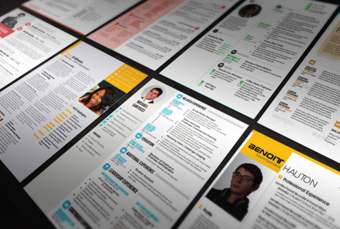 make you the best resume on fiverr by bhatlock