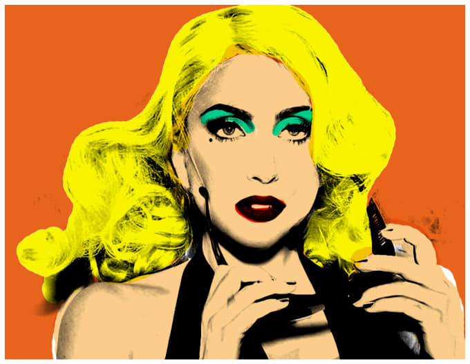 andy warhol art - HD 1100×777