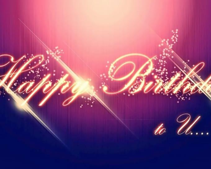 best happy birthday logo 2 U