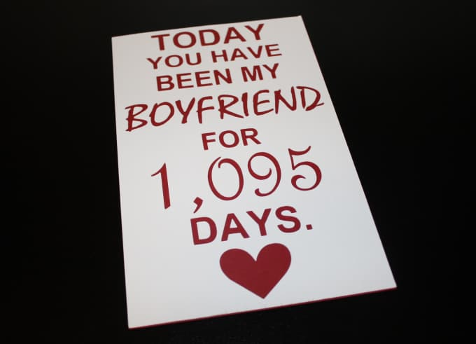Create A Handmade Love Card For Your Boyfriend