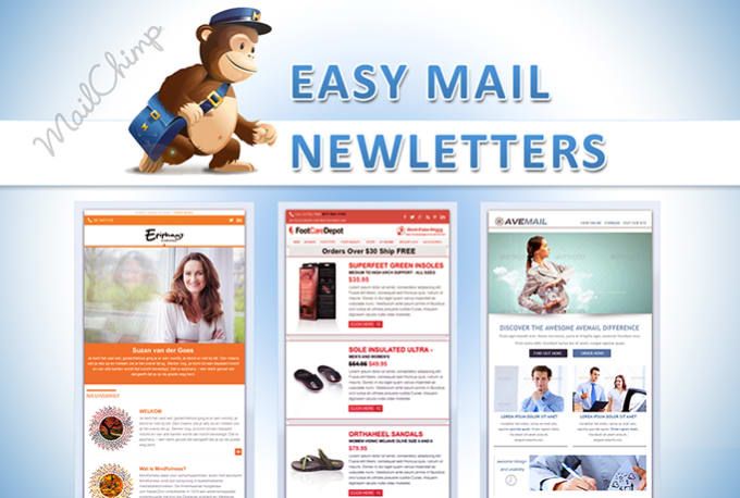Create email newsletter template by Lumerian
