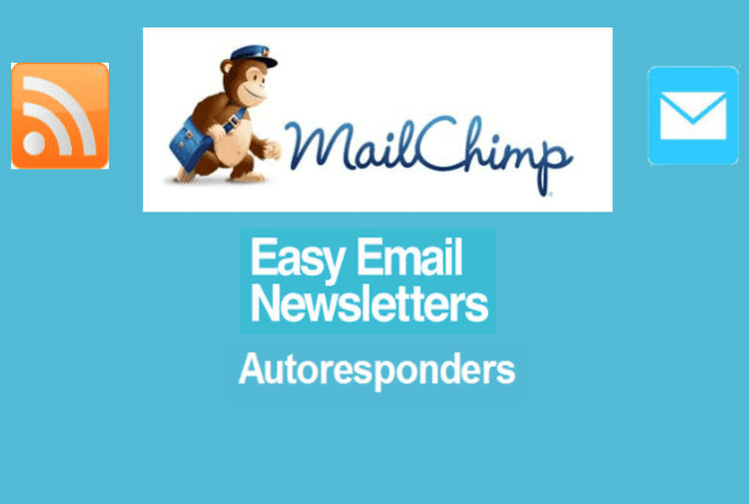 set up your autoresponder emails and or your RSS newsfeed campaign in mailchimp