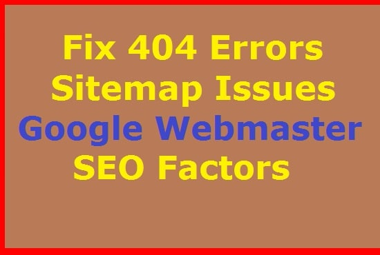 fix google webmaster tools errors 404 structure data by frank seo1