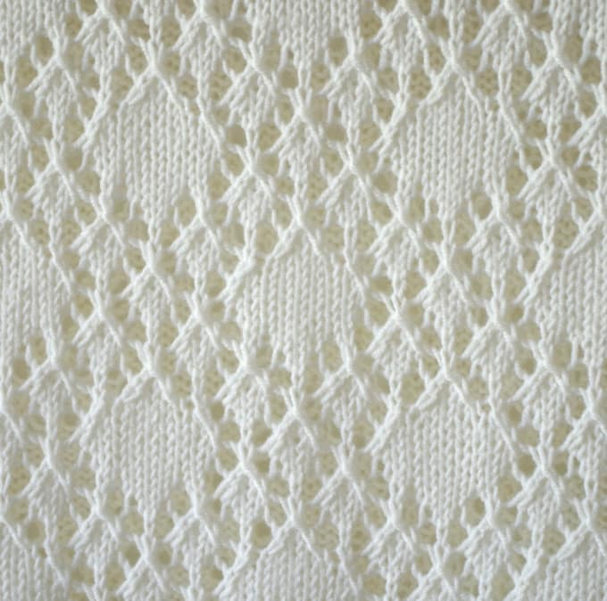Convert knitting chart into written instructions by Patternsuchess
