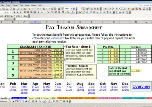 create a work hours and income tracking spreadsheet by az alpha geek