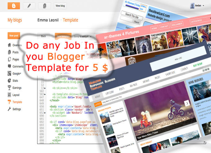 Customize your blogger theme by Emmaleonil