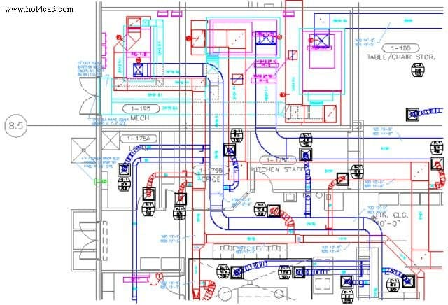 hvac plumbing drawing 2d design of hotel and home mep design by abhisarsihasane hvac shop drawing comments