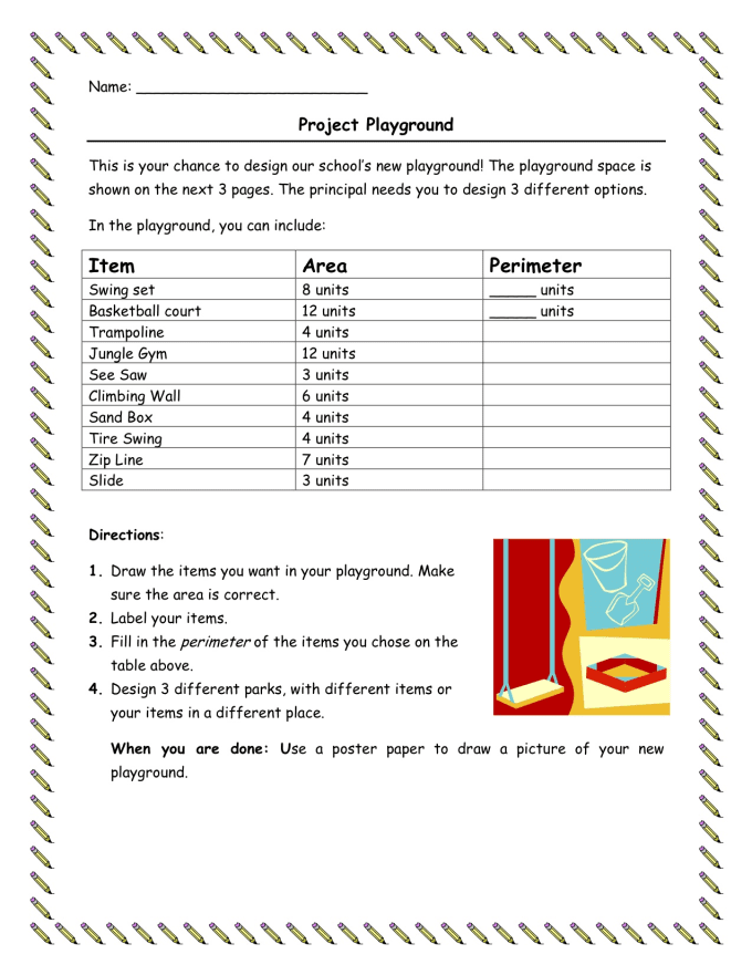 Printable Worksheets grade 2 perimeter worksheets : Email you three 3rd grade area and perimeter worksheets by Lalcock266