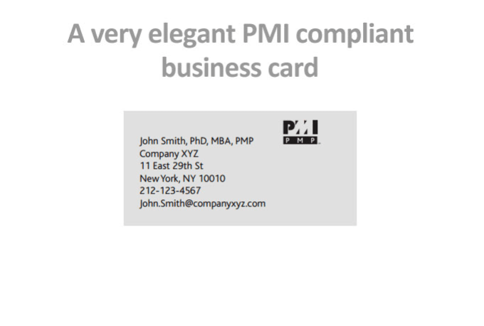 Design a pmi compliant business card for pmpcertified by yobyte design a pmi compliant business card for pmpcertified colourmoves