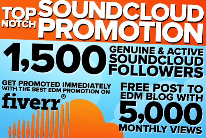 repost and blog your EDM soundcloud track