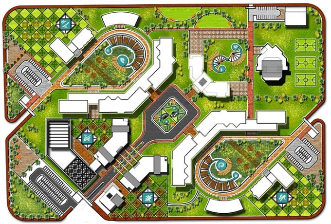 22 Design Architectural Site Plan And Landscape Design