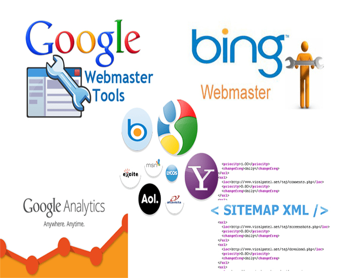 setup google webmaster tool sitemap and analytic by webxpertwp