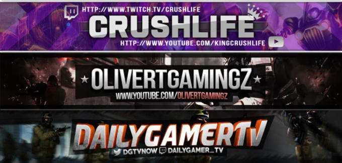 create ANY YouTube or Twitch graphics