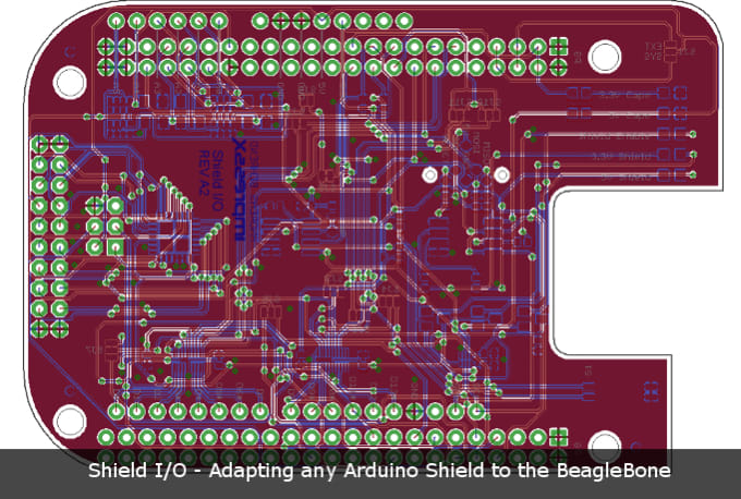 Make a professional pcb design from existing schematics by ...